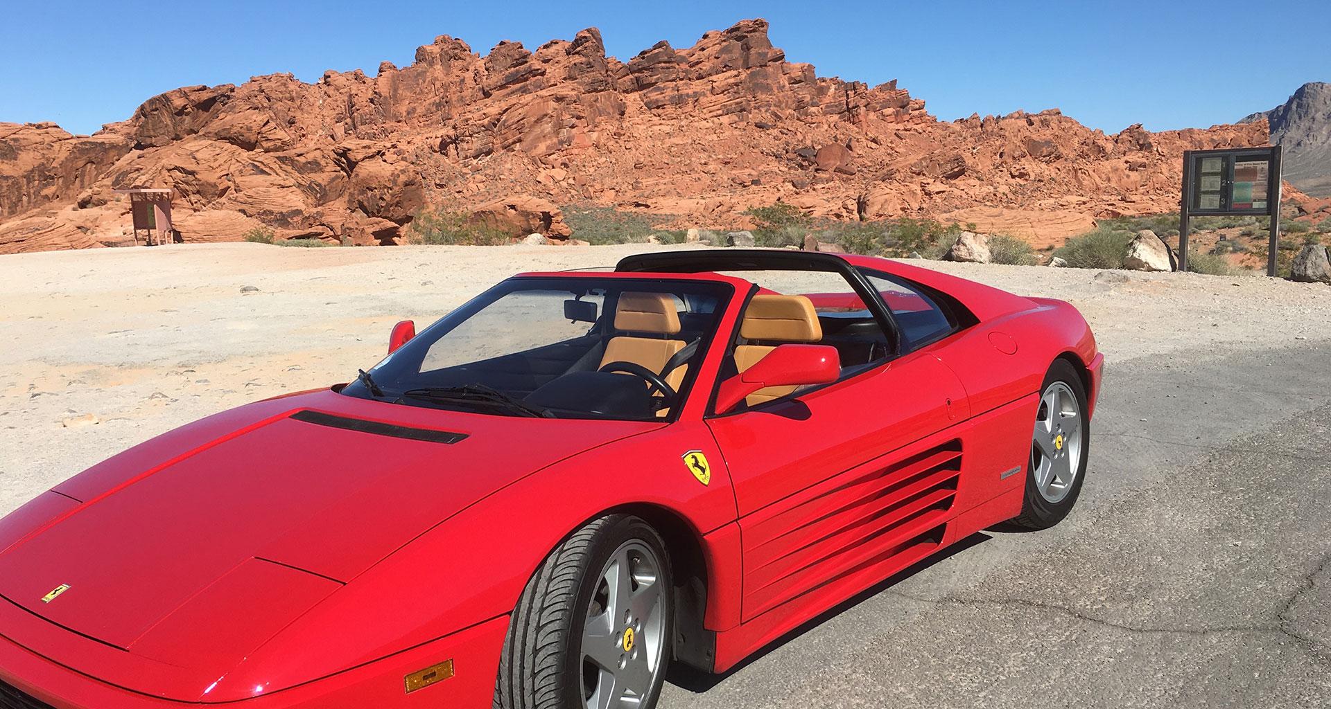348 Ferrari Club Las Vegas Red Rock