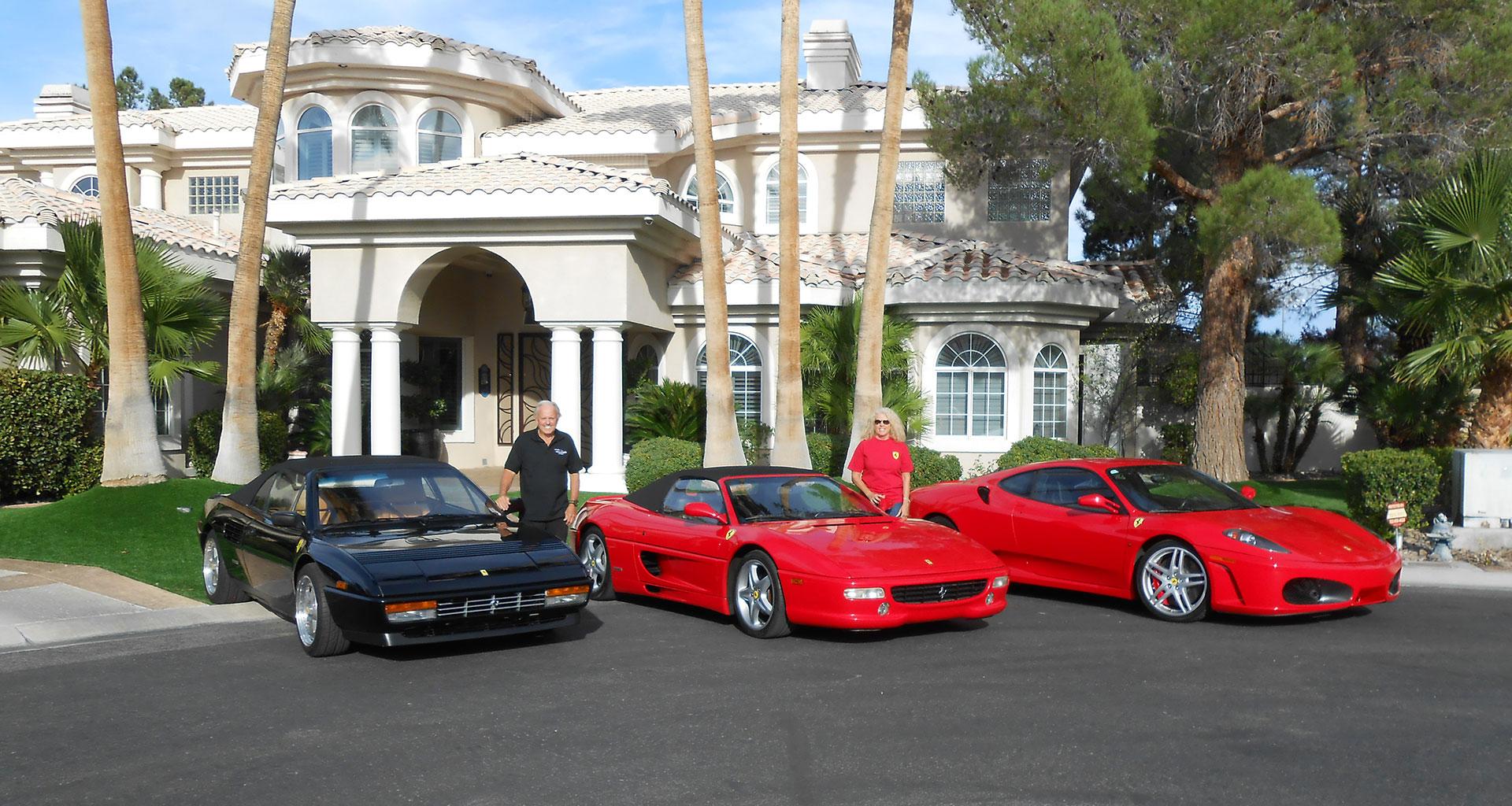 Ferrari Club Las Vegas Chapter Fogle Fleet